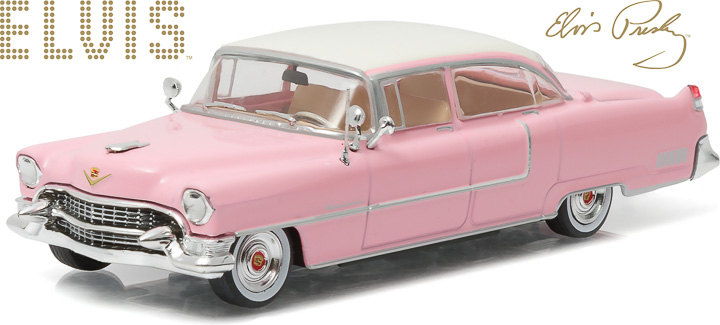 86491 - 1:43 Hollywood - Elvis Presley (1935-77) - 1955 Cadillac Fleetwood Series 60 Pink Cadillac