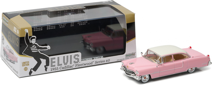 1:43 Hollywood - Elvis Presley (1935-77) - 1955 Cadillac Fleetwood Series 60 'Pink Cadillac'