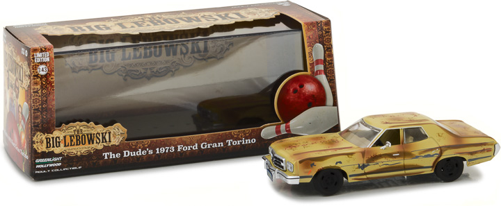 86495 - 1:43 The Big Lebowski (1998) - 1973 Ford Gran Torino