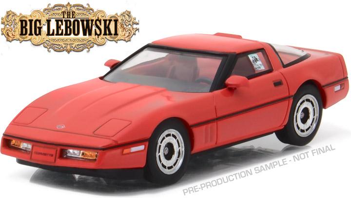 86497 - 1:43 The Big Lebowski (1998) - 1985 Chevrolet Corvette C4