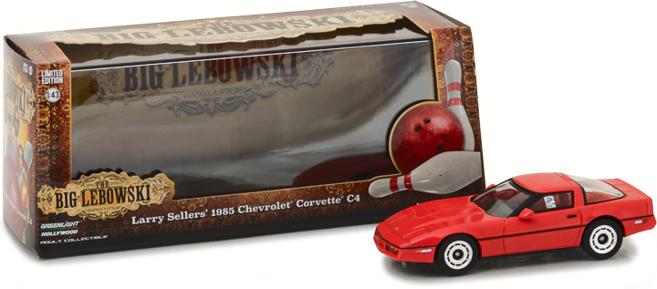 86497 - 1:43 The Big Lebowski (1998) - 1985 Chevrolet Corvette C4