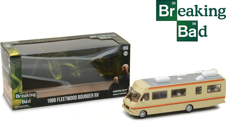86500 - 1:43 Breaking Bad (2008-13 TV Series) - 1986 Fleetwood Bounder RV