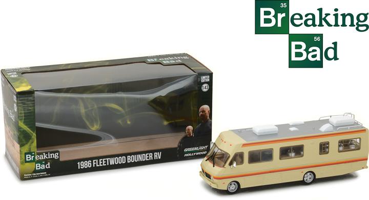86500 - 1:43 Breaking Bad (2008-13 TV Series) - 1986 Fleetwood Bounder RV