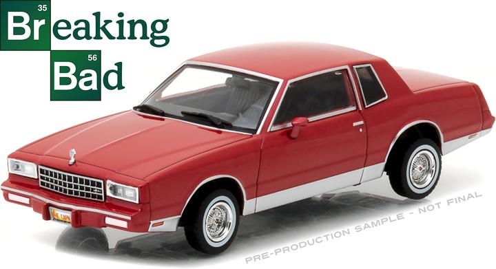 86501 - 1:43 Breaking Bad (2008-13 TV Series) - 1982 Chevy Monte Carlo