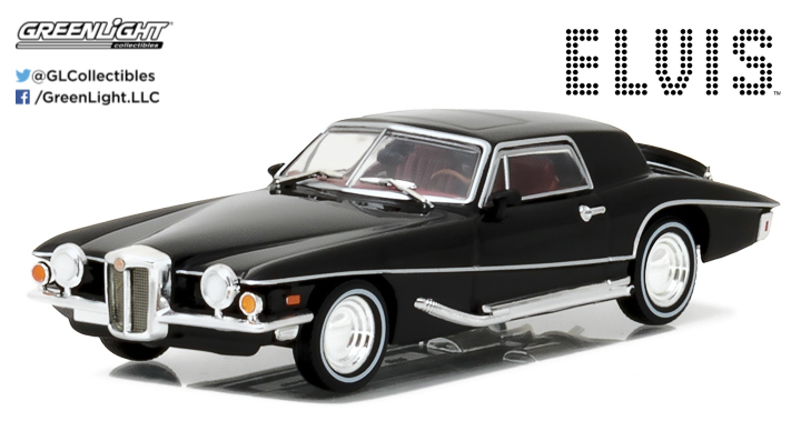 86503 - 1:43 Hollywood - Elvis Presley (1935-77) - 1971 Stutz Blackhawk