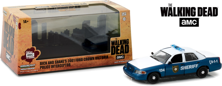 86504 - 1:43 The Walking Dead (2010-Current TV Series) - 2001 Ford Crown Victoria Police In