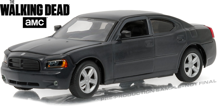 86505 - 1:43 The Walking Dead (2010-Current TV Series) - 2006 Dodge Charger Police