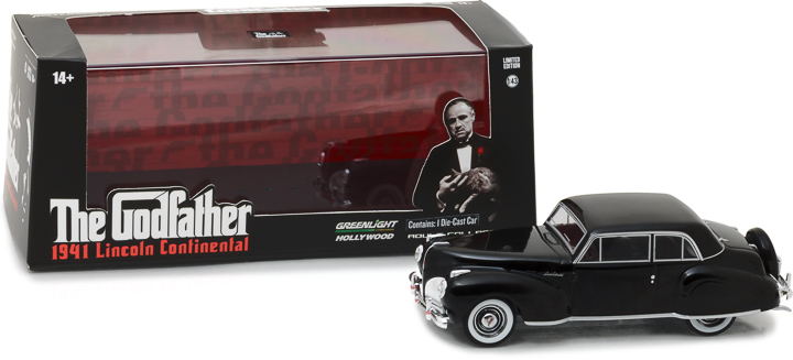 86507 - 1:43 Hollywood - The Godfather (1972) - 1941 Lincoln Continental