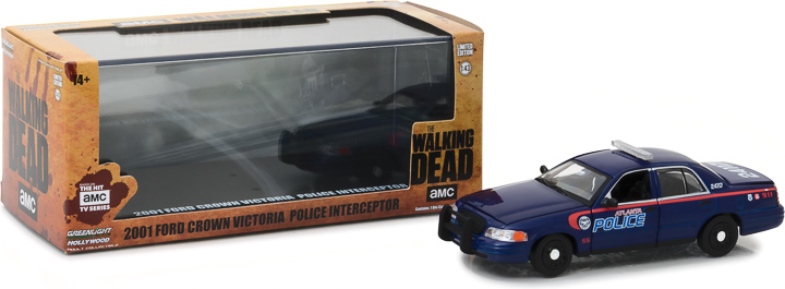 86510 - 1:43 The Walking Dead (2010-Current TV Series) - 2001 Ford Crown Victoria Police Interceptor Atlanta
