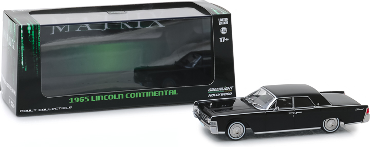 86511 - 1:43 Hollywood - The Godfather (1972) - 1941 Lincoln Continental w/Bullet Damage
