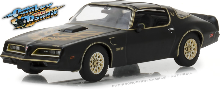86513 - 1:43 Smokey and the Bandit (1977) - 1977 Pontiac Firebird Trans Am