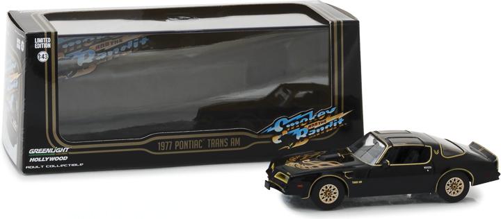 86513 - 1:43 Smokey and the Bandit (1977) - 1977 Pontiac Firebird Trans Am