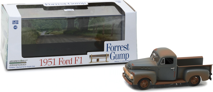 86514 - 1:43 Hollywood - Forrest Gump (1994) - 1951 Ford F-1 Truck Run, Forrest, Run!