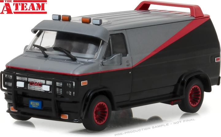 86515 - 1:43 The A-Team (1983-87 TV Series) - 1983 GMC Vandura
