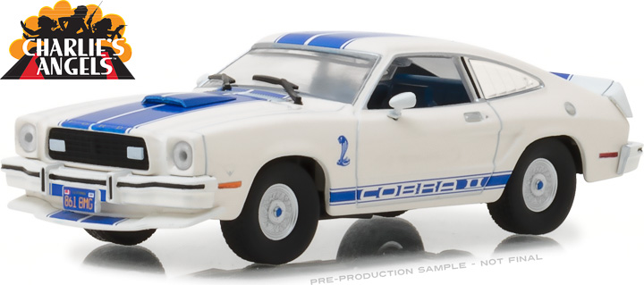86516 - 1:43 Charlie's Angels (1976–1981 TV Series) - 1976 Ford Mustang Cobra II