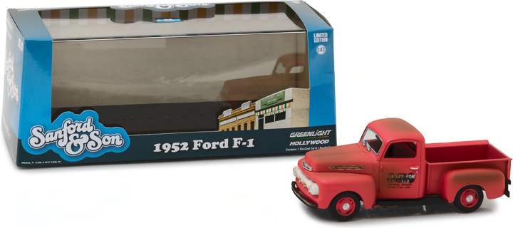 86521 - 1:43 Sanford and Son (1972-77 TV Series) - 1952 Ford F-1 Truck