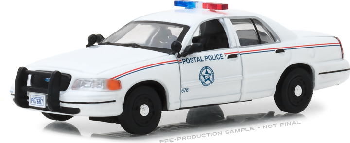 86523 - 1:43 2010 Ford Crown Victoria Police Interceptor United States Postal Service (USPS)