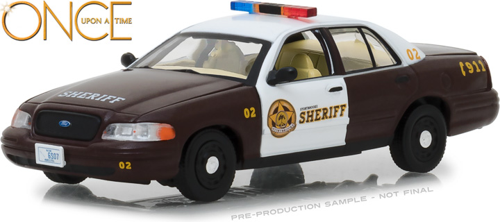 86525 - 1:43 Once Upon A Time (2011-Current TV Series) - Sheriff Graham's 2005 Ford Crown Victoria Police Interceptor