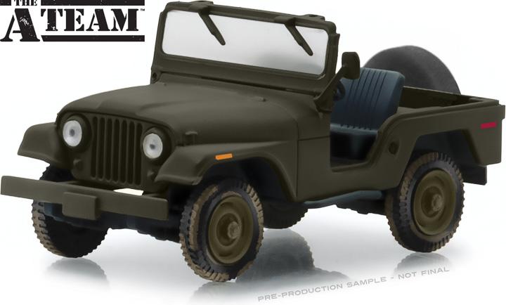 86526 - 1:43 The A-Team (1983-87 TV Series) - Jeep CJ-5