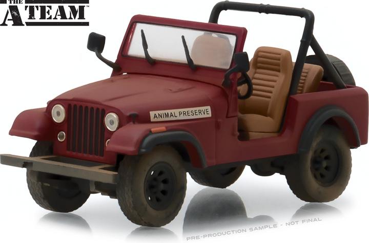 86528 - 1:43 The A-Team (1983-87 TV Series) - Jeep CJ-7
