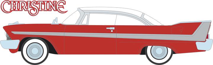 86529 - 1:43 Christine (1983) - 1958 Plymouth Fury