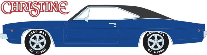 86531 - 1:43 Christine (1983) - Dennis Guilder's 1968 Dodge Charger