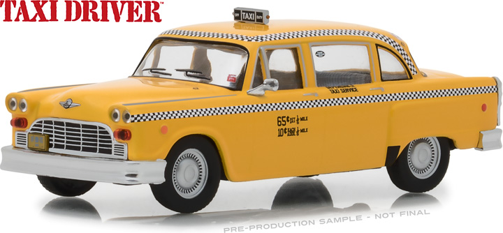 86532 - 1:43 Taxi Driver (1976) - Travis Bickle's 1975 Checker Taxicab