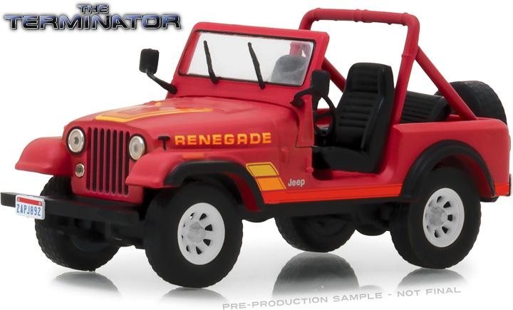 86533 - 1:43 The Terminator (1984) - Sarah Connor's 1983 Jeep CJ-7 Renegade