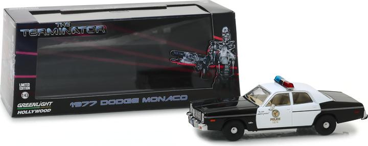 86534 - 1:43 The Terminator (1984) - 1977 Dodge Monaco Metropolitan Police