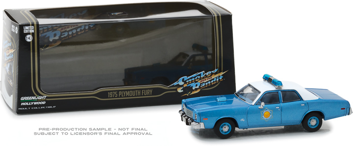 86536 - 1:43 Smokey and the Bandit (1977) - 1975 Plymouth Fury Arkansas State Police