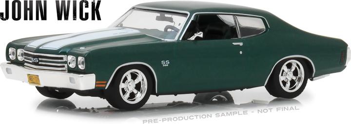 86541 - 1:43 John Wick (2014) - 1970 Chevrolet Chevelle SS 396