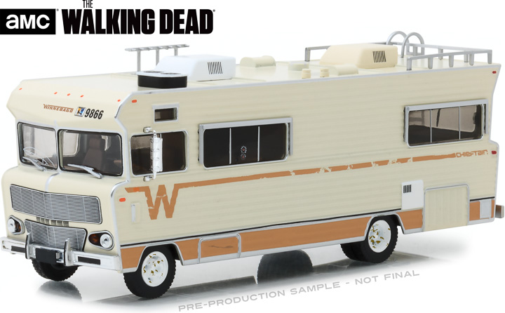 86543 - 1:43 The Walking Dead (2010-Current TV Series) - Dale's 1973 Winnebago Chieftain
