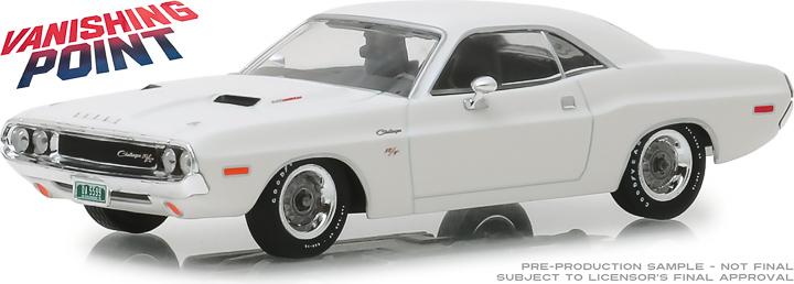 86545 - 1:43 Vanishing Point (1971) - 1970 Dodge Challenger R/T