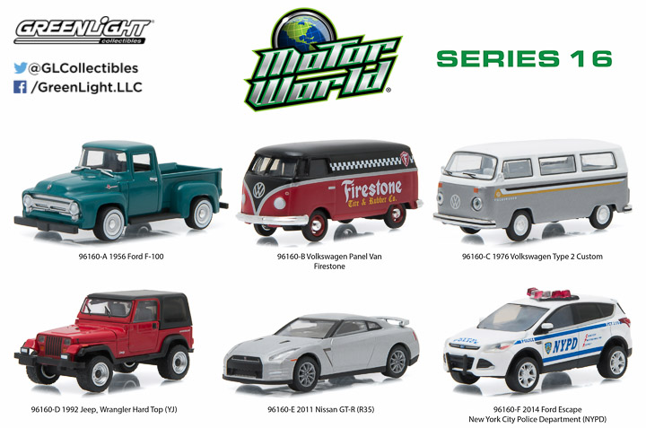 1:64 Motor World Series 16
