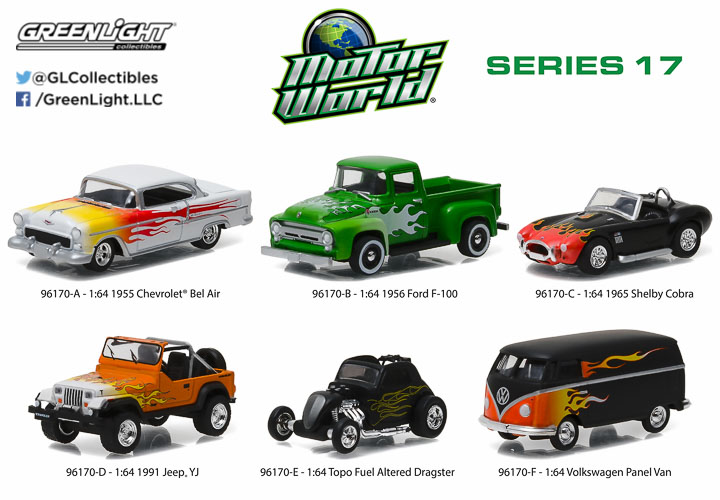 1:64 Motor World Series 17