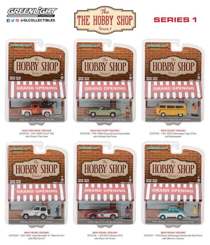 97010 - 1:64 The Hobby Shop Series 1