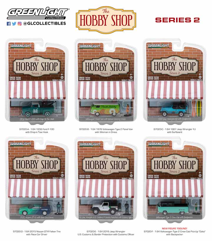 97020 - 1:64 The Hobby Shop Series 2