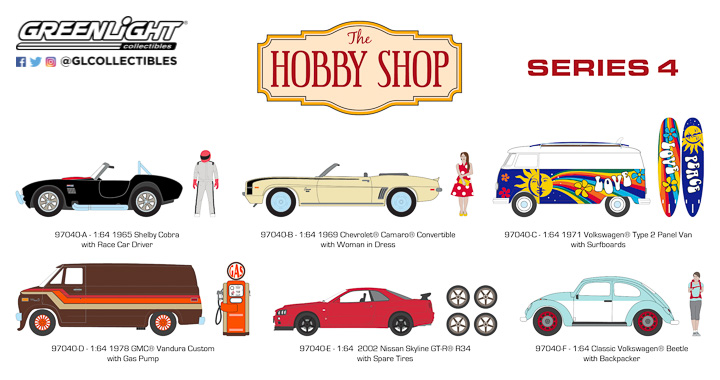97040 - 1:64 The Hobby Shop Series 4