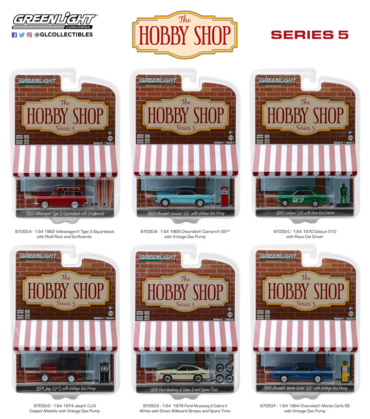 97050 - 1:64 The Hobby Shop Series 5