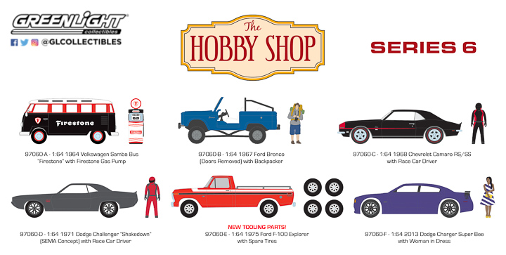 97060 - 1:64 The Hobby Shop Series 6