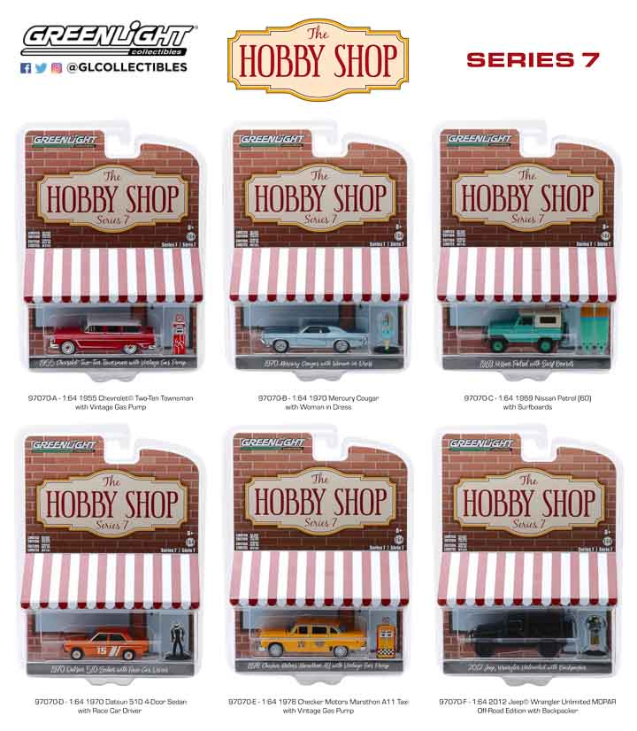 97070 - 1:64 The Hobby Shop Series 7