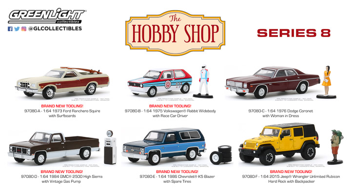 97080 - 1:64 The Hobby Shop Series 8