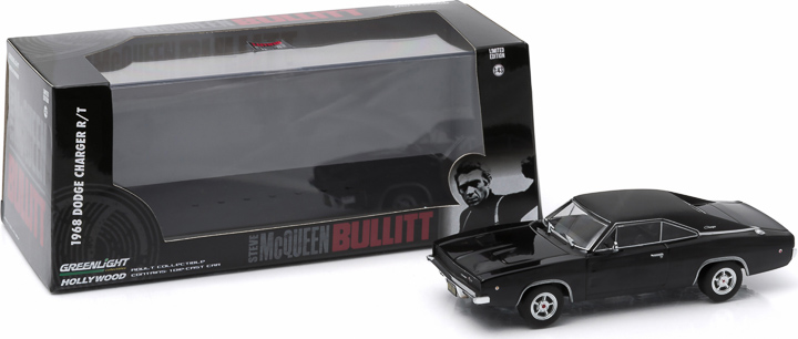 1:43 Hollywood Series 3 - Bullitt (1968) - 1968 Dodge Charger
