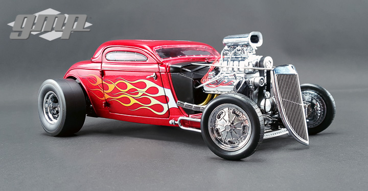 GMP-18816 - 1:18 GMP - 1934 Blown Altered Nitro Coupe
