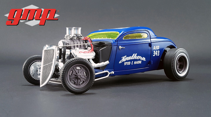 GMP-18829 - 1:18 GMP - 1934 Blown Altered Coupe