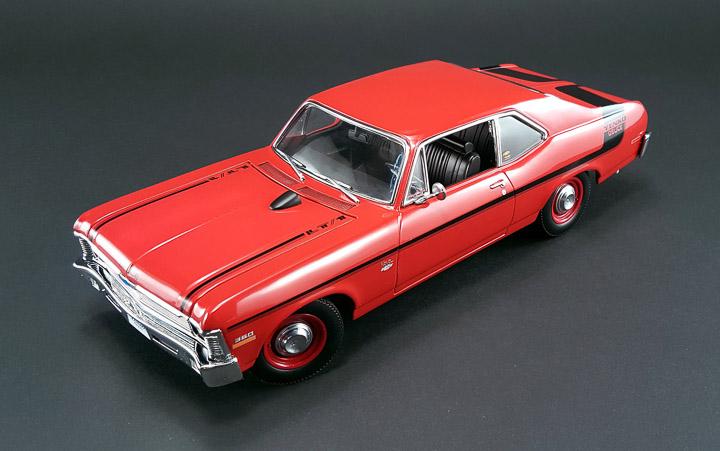 GMP-18830 - 1:18 GMP - 1970 Chevy Nova Yenko Deuce