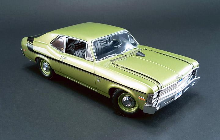 GMP-18831 - 1:18 GMP - 1970 Chevy Nova Yenko Deuce
