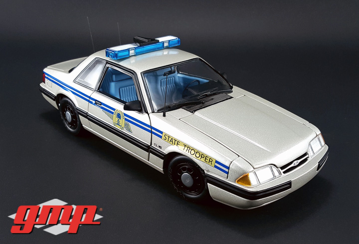 GMP-18844 - 1:18 GMP - 1991 Ford Mustang South Carolina Highway Patrol SSP