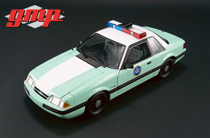 GMP-18845 - 1:18 GMP - 1988 Ford Mustang United States Border Patrol SSP