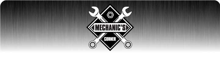 Mechanic's Corner Product Banner